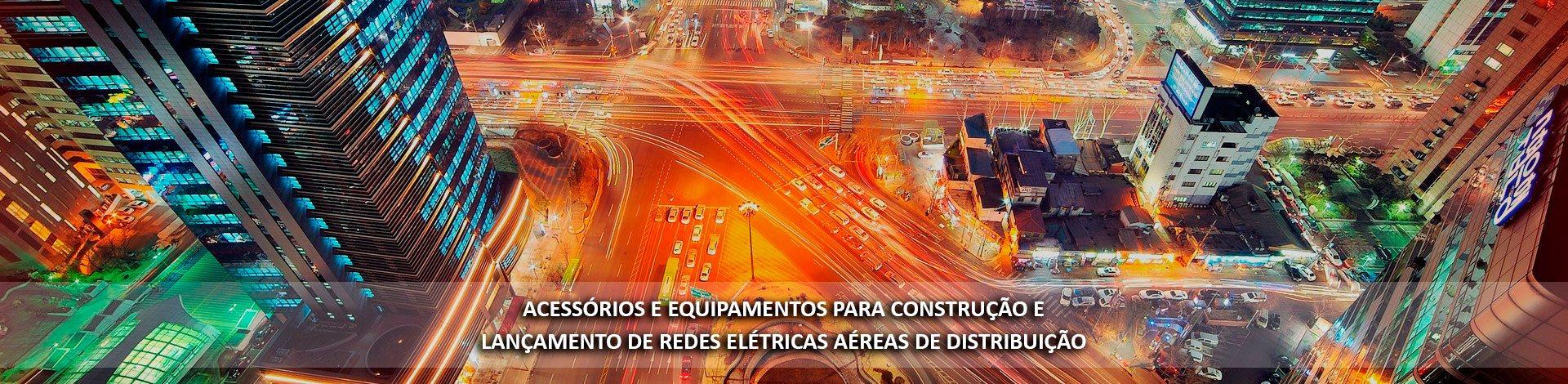 Acessórios para construção de rede elétrica